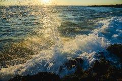 Surf at dawn Stock Image
