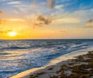 Surf at dawn Royalty Free Stock Photo