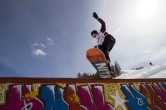 Surf des neiges Photo stock