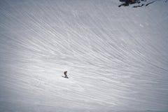 Surf des neiges au Japon Photographie stock