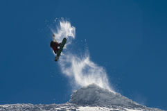 surf des neiges de style libre Photos libres de droits