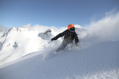 Surf des neiges parasitaire Photographie stock libre de droits