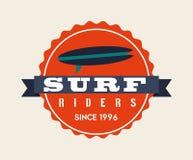 Surf design. Surf graphic design , vector illustration Stock Photography