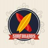 Surf design. Surf graphic design , vector illustration Royalty Free Stock Images