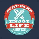 Surf design Stock Images