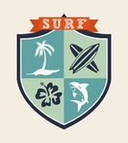 Surf design Stock Photo