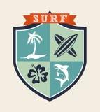 Surf design Stock Photo