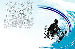 Surf Event Background Stock Image