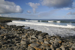 Surf on Fanore beach Stock Photos