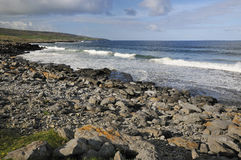 Surf on Fanore beach Stock Photography