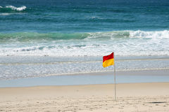 Surf flag Royalty Free Stock Photo