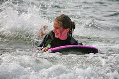 Surf Fun Stock Photo
