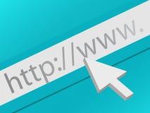 Surf het Web Stock Foto's