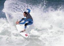 Surf II. Tarde de surf en la playa de El Sardinero,Cantabria ( norte de España Stock Photo