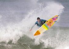 Surf III. Tarde de surf en la playa de El Sardinero,Cantabria ( norte de España Royalty Free Stock Image