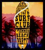 Surf Illustration Stock Image