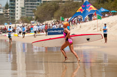 Surf Ironman Series Royalty Free Stock Images