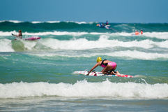Surf Ironman Series Royalty Free Stock Photography