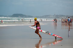 Surf Ironman Series Stock Photography