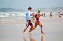 Surf Ironman Series Stock Images