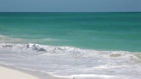 Surf on the island of Cayo Largo. Cuba. Royalty Free Stock Images