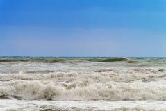 Surf in Italy. Surf near Marina di Castiglione della Pescaia, Italy Royalty Free Stock Photos