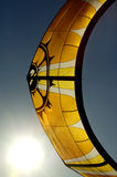 Surf kite. And sun royalty free stock image