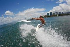 Surf klaar voor een grote beperking stock afbeeldingen