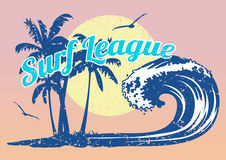 Surf League Stock Image