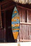 Surf Lessons School. Barcelo Maya Colonial Resort, Riviera Maya Royalty Free Stock Images