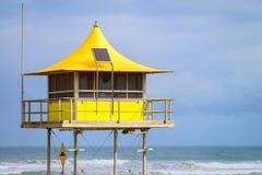 Surf life saving tower Royalty Free Stock Photos