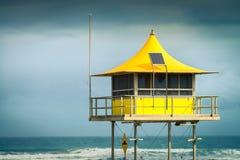 Surf life saving tower Royalty Free Stock Image