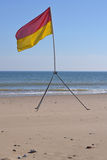 Surf lifesaving flag Royalty Free Stock Photo