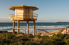Surf Lifesaving Hut Royalty Free Stock Images