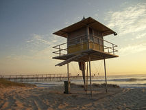Surf Lifesaving Tower Royalty Free Stock Photos