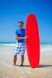Surf man Stock Image