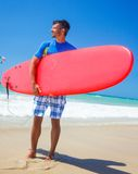 Surf man Stock Images