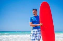 Surf man Stock Photography
