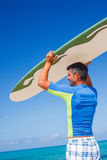 Surf man Stock Photos