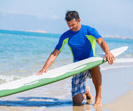 Surf man Stock Image