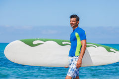 Surf man Royalty Free Stock Photos