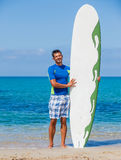 Surf man Royalty Free Stock Image