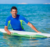 Surf man Stock Photography