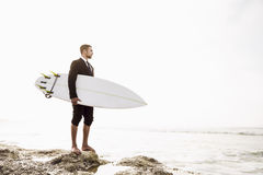 Surf is my Business Stock Photo