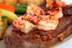 Surf n' Turf Royalty Free Stock Image