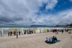 Surf Record Cape Town Stock Images