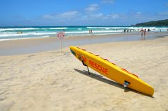 Surf Rescue Board Royalty Free Stock Photography