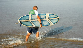 Surf rider Royalty Free Stock Photography