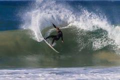 Surf Rider Power Turn Stock Photography