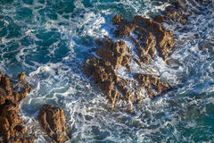 Surf&rocks imagens de stock royalty free